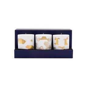 家居系列謎之花香氛蠟燭三入組